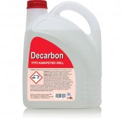 Decarbon 4lt   Ισχυρό καθαριστικό για grill & ψησταριές