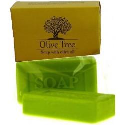 Olive tree σαπούνι ελαιόλαδου παραλ/μο 25 gr σε ζελατίνα και σε χάρτινο κουτί