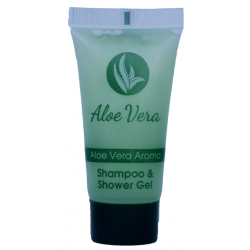 Aloe vera Σαμπουάν ΚΑΙ Αφρόλουτρο 20ml tube
