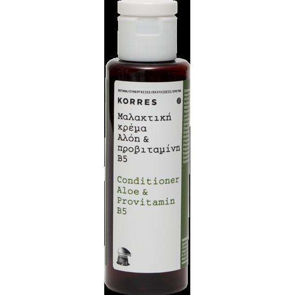Korres κρέμα μαλλιών 40ml με αλόη & προβιταμίνη Β5 * 201τ