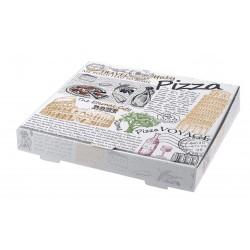 Κουτί λευκό italy pizza mikrowelle 26cm 100 τ