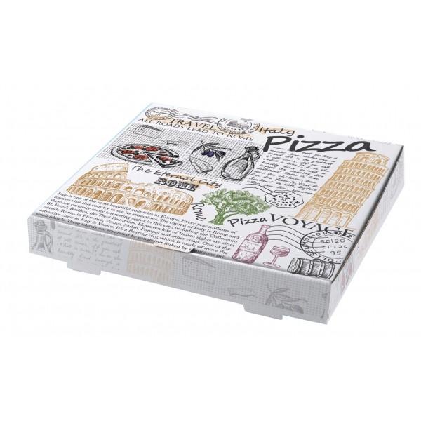 Κουτί λευκό italy pizza mikrowelle 35cm 100 τ