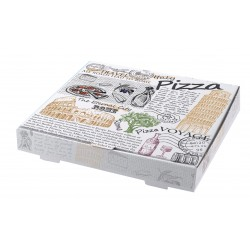 Κουτί λευκό italy pizza mikrowelle 33cm 100 τ