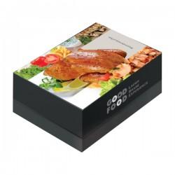 Κουτί ψητοπωλείου κοτόπουλο σούβλας 1kg Μιας χρήσης αναλώσιμα