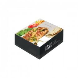 Κουτί ψητοπωλείου σκεπαστή Νο 22 Ζ80Β 1kg Μιας χρήσης αναλώσιμα