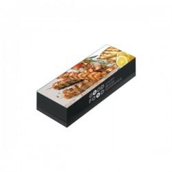 Κουτί ψητοπωλείου καλαμάκι μικρό Ζ68Β 1kg Μιας χρήσης αναλώσιμα