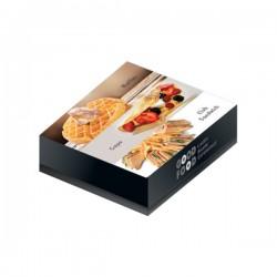 Κουτί ψητοπωλείου βάφλας Ζ28 1kg Μιας χρήσης αναλώσιμα