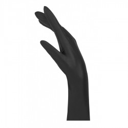 Γάντια νιτριλίου μαύρα χωρίς πούδρα BOLD 100τ